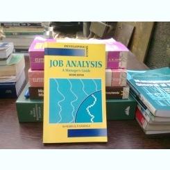 Job analysis - M. Pearn  (analiza muncii, ghid practic pentr manageri)