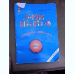 Jocuri didactice pentru educarea limbajului, indrumator metodic cartea educatoare pentru grupa pregatitoare - Aurelia Ana