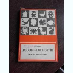 JOCURI- EXERCITIU PENTRU PRESCOLARI - A.V. LOVINESCU