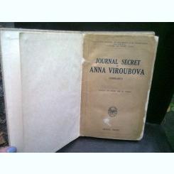 JOURNAL SECRET DE ANNA VIROUBOVA