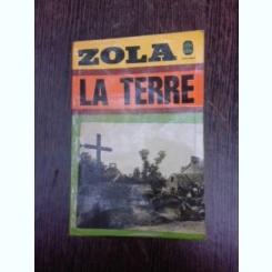 La Terre - Zola  (carte in limba franceza)