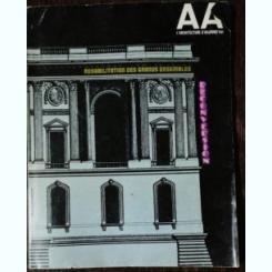 L'ARCHITECTURE D'AJOURD 'HUI 194 - REHABILITATION DES GRANDS ENSEMBLES RECONVERSION