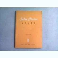 LAUDE - SABIN PAUTZA  (PARTITURA)