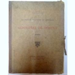 LE TRESOR BYZANTIN ET ROUMAIN DU MONASTERE DE POUTNA- ATLAS DE O. TAFRALI 1925
