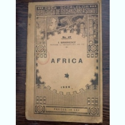 LECTURI GEOGRAFICE - AFRICA DE I. SIMIONESCU , NR. 40 ,