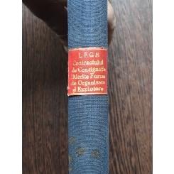 LEGE PENTRU REGLEMENTAREA CONTRACTULUI DE CONSIGNATIE 1934 coligat cu DIFERITE FORME DE ORGANIZARE SI EXPLOATARE A SERVICIILOR PUBLICE