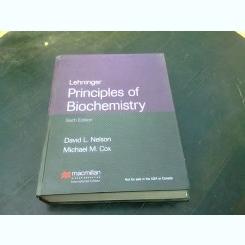 LEHNINGER. PRINCIPLES OF BIOCHEMISTRY - DAVID L. NELSON  (CARTE IN LIMBA ENGLEZA)