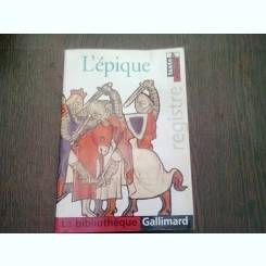 L'EPIQUE - ELOISE LIEVRE  (CARTE IN LIMBA FRANCEZA)