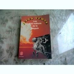 LES 500 MILLIONS DE LA BEGUM - JULES VERNE  (CARTE IN LIMBA FRANCEZA)
