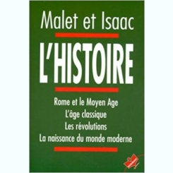 L'HISTOIRE - MALET ET ISAAC  (CARTE IN LIMBA FRANCEZA)
