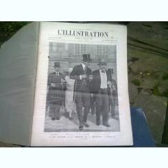 L'ILLUSTRATION REVUE   (REVISTA ARTISTICA)  NUMERELE DIN IULIE, AUGUST, SEPTEMBRIE, OCTOMBRIE, NOIEMBRIE, DECEMBRIE 1921 (COLIGATE)