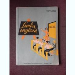 LIMBA ENGLEZA CLASA A VI-A, 1962 - MARIANA TARANU