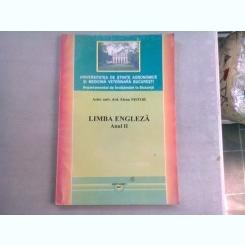 LIMBA ENGLEZA ANUL II - ELENA NISTOR  (CURS INVATAMANT LA DISTANTA)