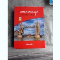 LIMBA ENGLEZA, JOCURI DE VOCABULAR I