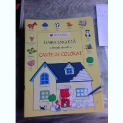 LIMBA ENGLEZA, PRIMELE CUVINTE, CARTE DE COLORAT