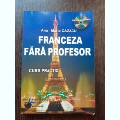LIMBA FRANCEZA FARA PROFESOR - ANA MARIA CAZACU  (FARA CD)