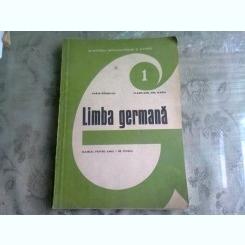 LIMBA GERMANA - KARIN GUNDISCH  MANUAL PENTRU ANUL I DE STUDIU