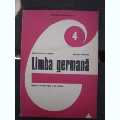 Limba germana - Lidia Georgeta Eremia  Manual pentru anul IV de studiu