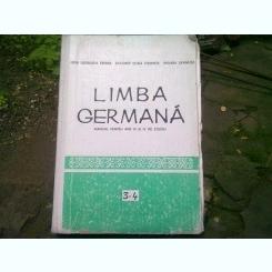 LIMBA GERMANA MANUAL PENTRU ANII III SI IV DE STUDIU - LIDIA GEORGETA EREMIA