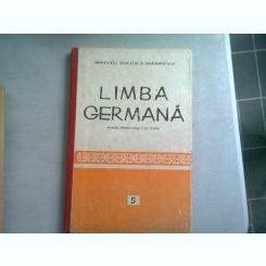 LIMBA GERMANA. MANUAL PENTRU ANUL V DE STUDIU