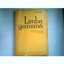 LIMBA GERMANA. MANUAL PENTRU CALSA XI-A LICEU SI ANUL III LICEE DE SPECIALITATE - BRUNO COLBERT