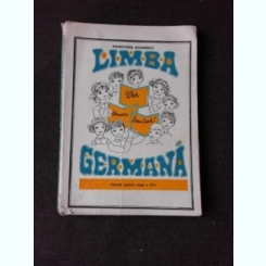 LIMBA GERMANA, MANUAL PENTRU CLASA A IV - AANASTASIA GHINESCU