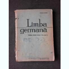 LIMBA GERMANA, MANUAL PENTRU CLASA IX-A - BASILIUS ABAGER