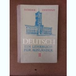 Limba germana pentru straini, vol.II