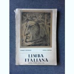 LIMBA ITALIANA, MANUAL PENTRU CLASA A X-A - GEORGE LAZARESCU