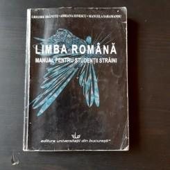 LIMBA ROMANA, MANUAL PENTRU STUDENTII STRAINI - GRIGORE BRANCUS