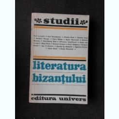 LITERATURA BIZANTULUI, STUDII