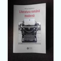LITERATURA ROMANA MODERNA - MIRCEA ANGHELESCU  PARTEA INTAI, PREMISE INCEPUTURI 1780-1860(CU DEDICATIA AUTORULUI)