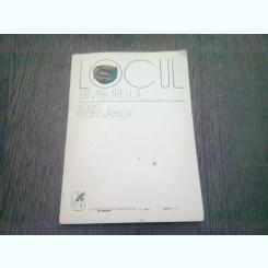 LOCUL SAMBURELUI - SORIN MARCULESCU  (CU DEDICATIA AUTORULUI)