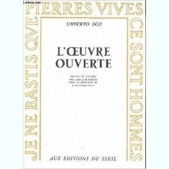 L'OEUVRE OUVERTE - UMBERTO ECO  (CARTE IN LIMBA FRANCEZA)