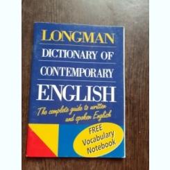 LONGMAN, DICTIONARY OF CONTEMPORARY ENGLISH