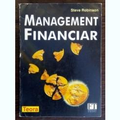 Management financiar - Steve Robinson