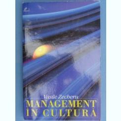 Management in cultura - Vasile Zecheru