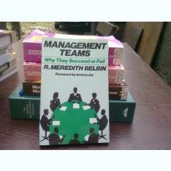 Management teams - R. Meredith Belbin   (Echipe de manageri)