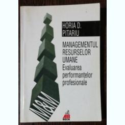 MANAGEMENTUL RESURSELOR UMANE - HORIA D.PITARIU