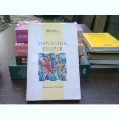 Managing people - Rosemary Thomson  (Gestionarea resurselor umane)