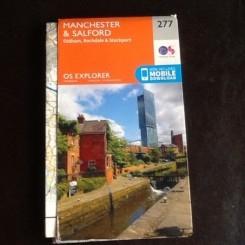 Manchester & Salford HARTA TURISTICA