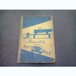 Manual de automobile, Volumul I - Manual pentru scolile profesionale
