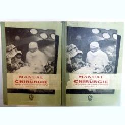 MANUAL DE CHIRURGIE PENTRU SCOLILE DE ASISTENTE MEDICALE 2 VOLUME
