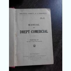 MANUAL DE DREPT COMERCIAL, PARTEA A IV-A