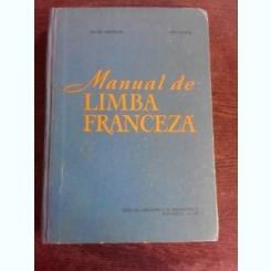 MANUAL DE LIMBA FRANCEZA,  - MATEI CRISTESCU