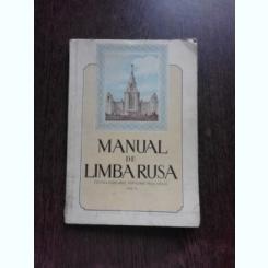 MANUAL DE LIMBA RUSA PENTRU CURSURILE POPULARE DE LA ORASE, CICLUL II