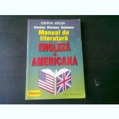MANUAL DE LITERATURA ENGLEZA SI AMERICANA - BANTAS CLONTEA BRANZEU
