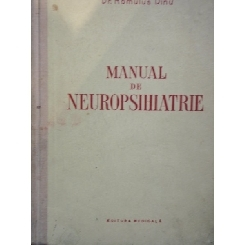 MANUAL DE NEUROPSIHIATRIE - ROMULUS DINU