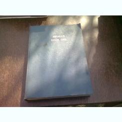 MANUAL DE REPARATII MR 150 DACIA 1300  (CARTE XEROX)