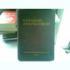 MANUALUL ARHITECTULUI - E. NEUFERT